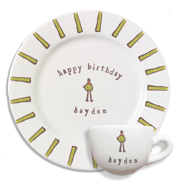 ... Birthday Bird Dishes. happy_birthday_bird_dish_set_new  sc 1 st  What a Dish! & Happy Birthday Bird Dishes - What a Dish!