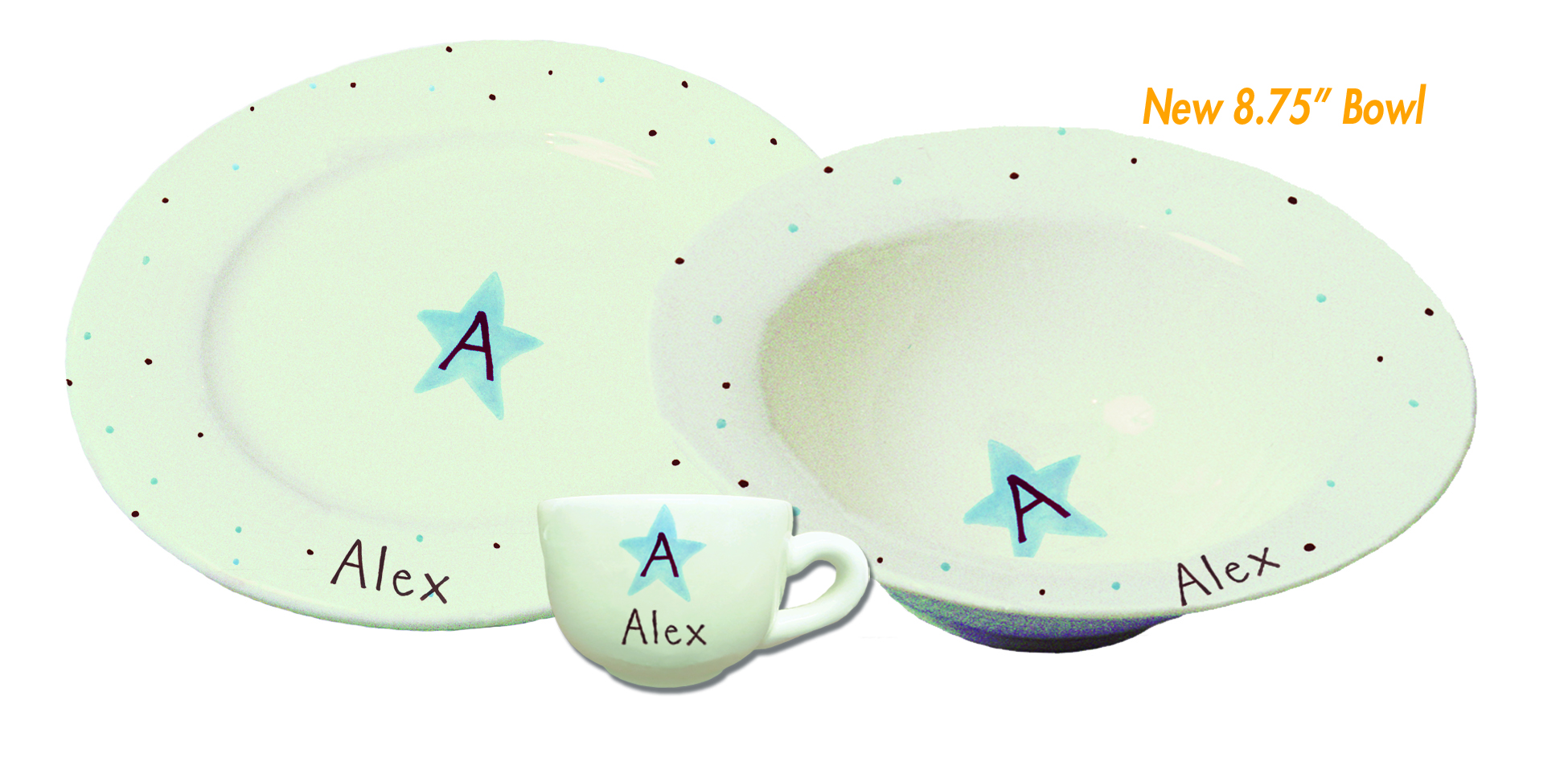 Monogram Star Dishes What A Dish
